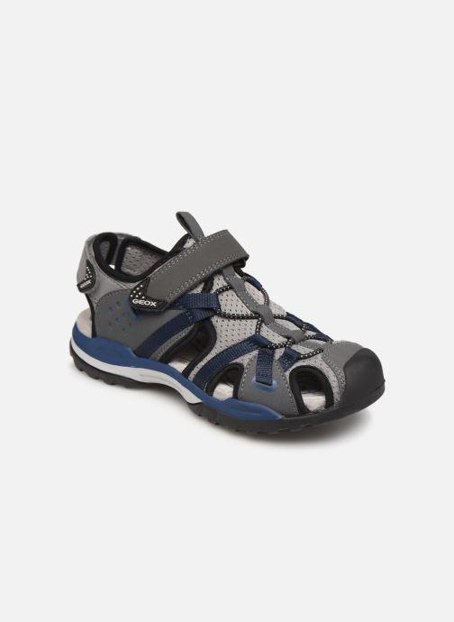 Sandalen Geox J Borealis Boy J920RB Blauw detail
