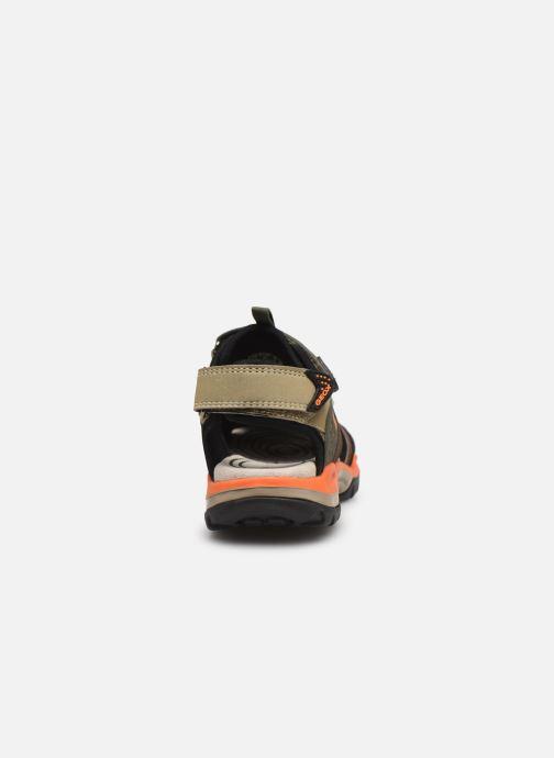 Sandales et nu-pieds Geox J Borealis Boy J920RB Vert vue droite