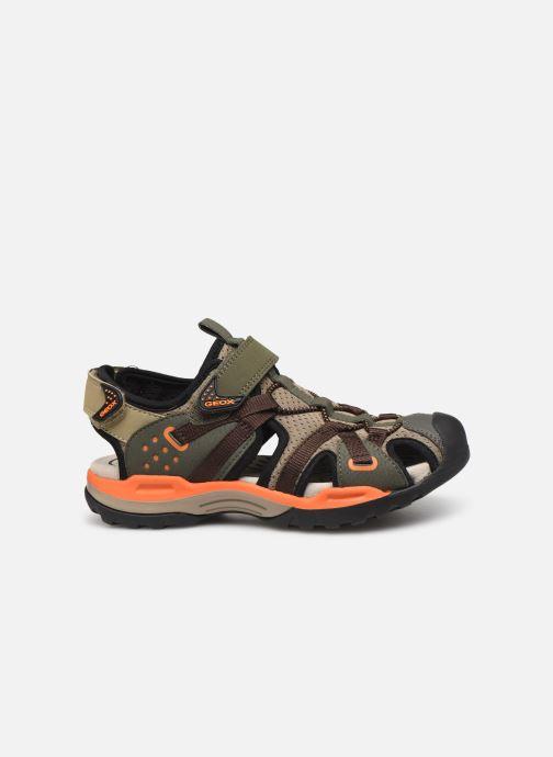 Sandales et nu-pieds Geox J Borealis Boy J920RB Vert vue derrière