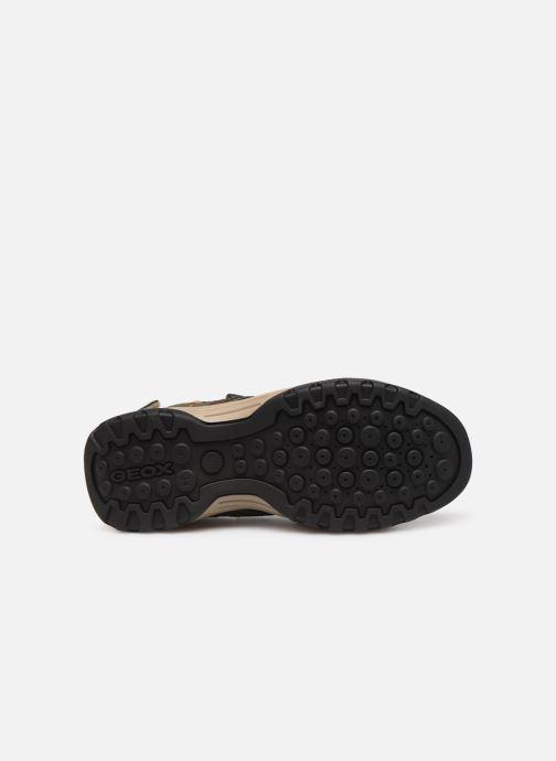 Sandales et nu-pieds Geox J Borealis Boy J920RB Vert vue haut