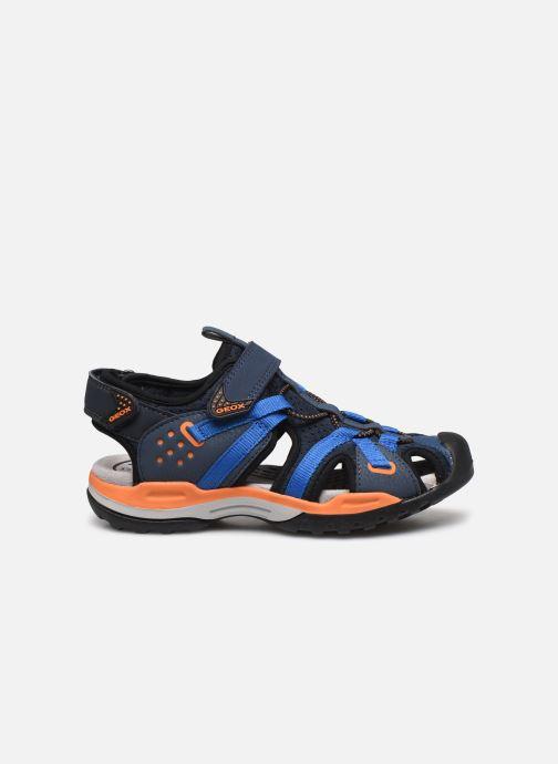 Sandalen Geox J Borealis Boy J920RB blau ansicht von hinten