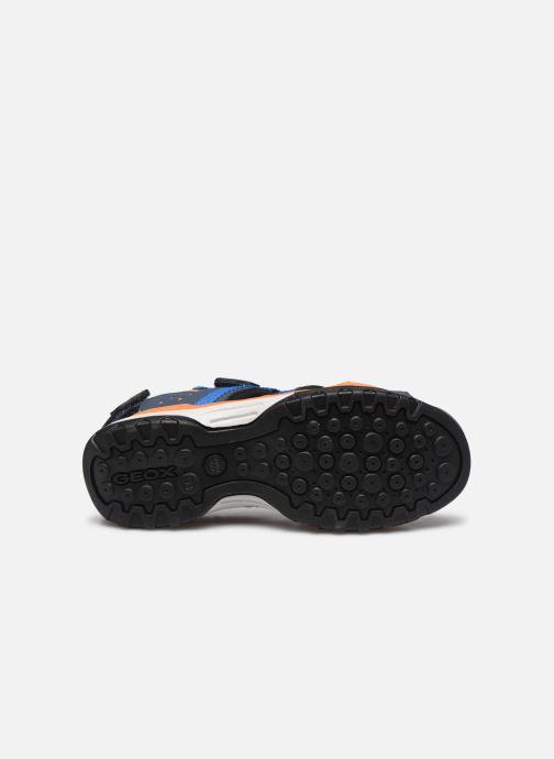 Sandalen Geox J Borealis Boy J920RB blau ansicht von oben