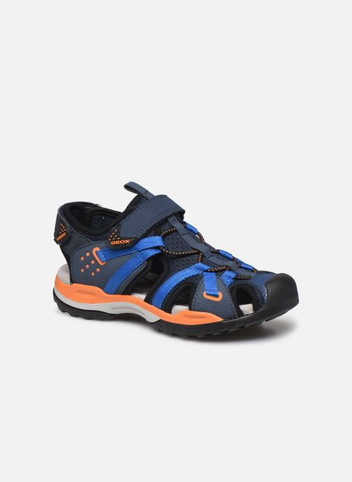 Sandalen Geox J Borealis Boy J920RB blau detaillierte ansicht/modell