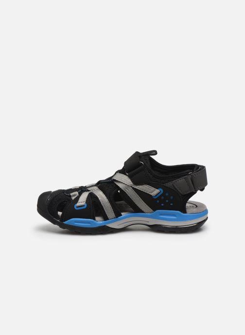 Sandales et nu-pieds Geox J Borealis Boy J920RB Noir vue face