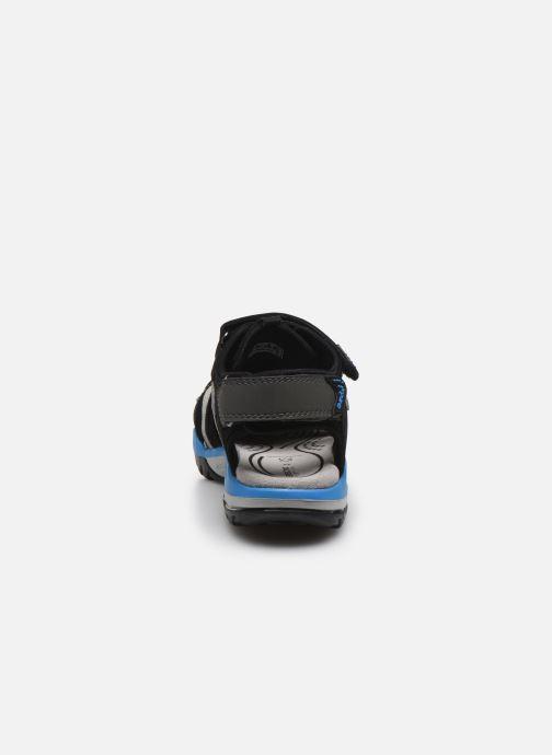 Sandales et nu-pieds Geox J Borealis Boy J920RB Noir vue droite
