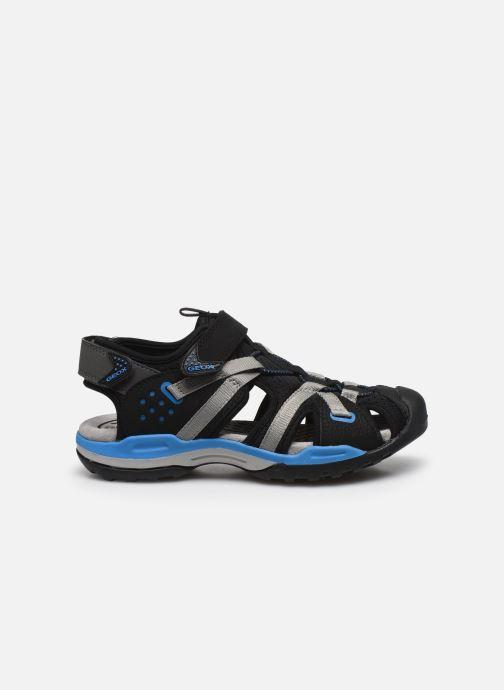 Sandales et nu-pieds Geox J Borealis Boy J920RB Noir vue derrière