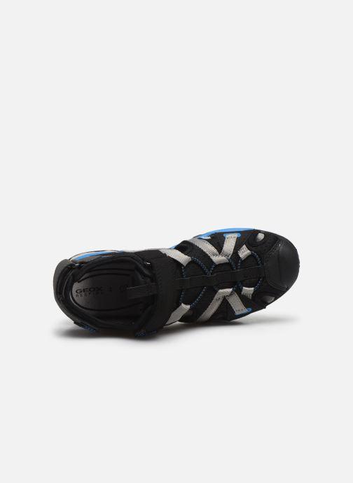 Sandales et nu-pieds Geox J Borealis Boy J920RB Noir vue gauche