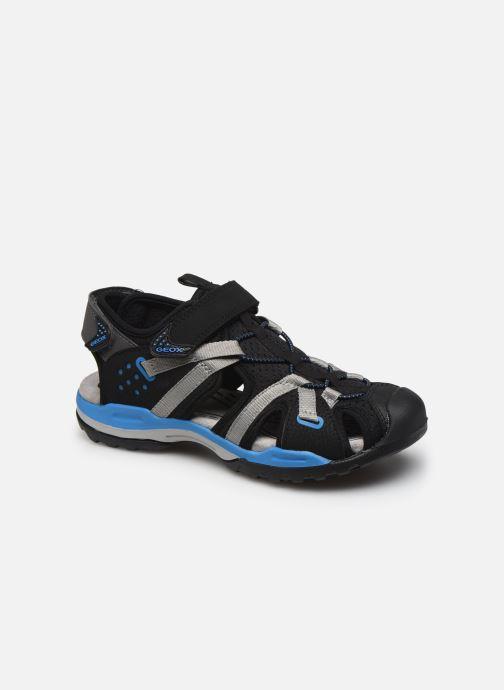 Sandales et nu-pieds Geox J Borealis Boy J920RB Noir vue détail/paire