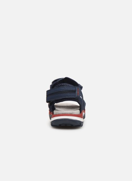 Sandales et nu-pieds Geox J Borealis Boy J920RD Bleu vue droite