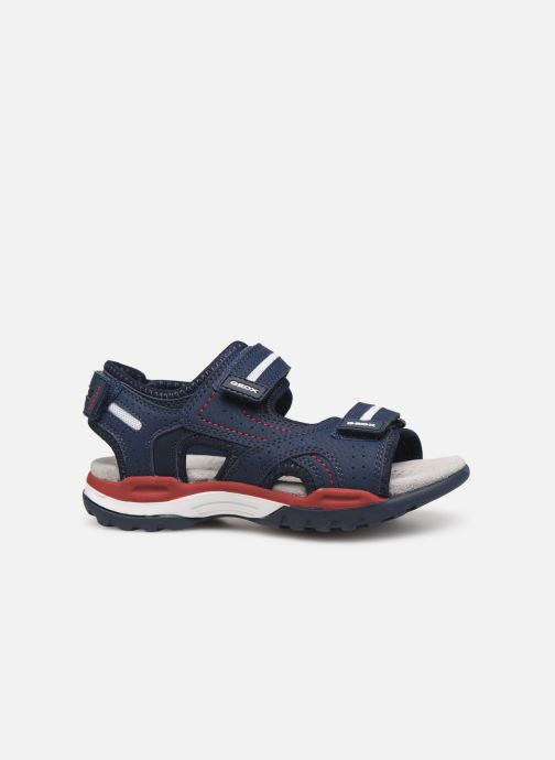 Sandalen Geox J Borealis Boy J920RD blau ansicht von hinten