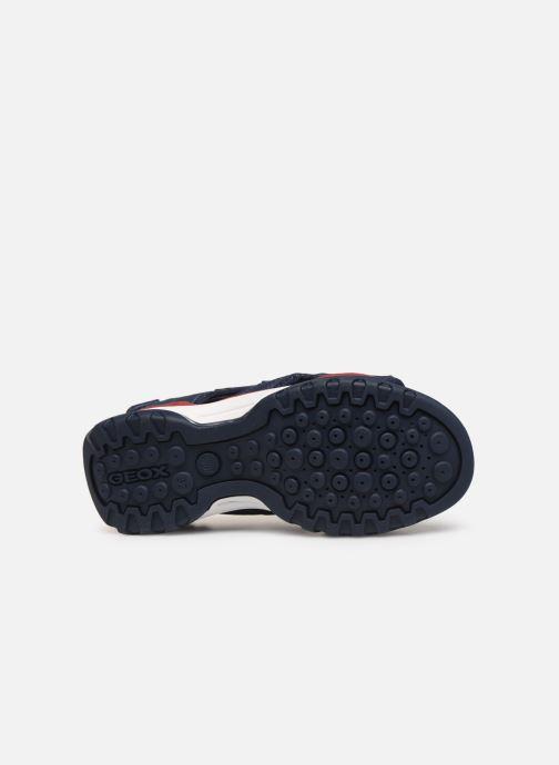 Sandales et nu-pieds Geox J Borealis Boy J920RD Bleu vue haut