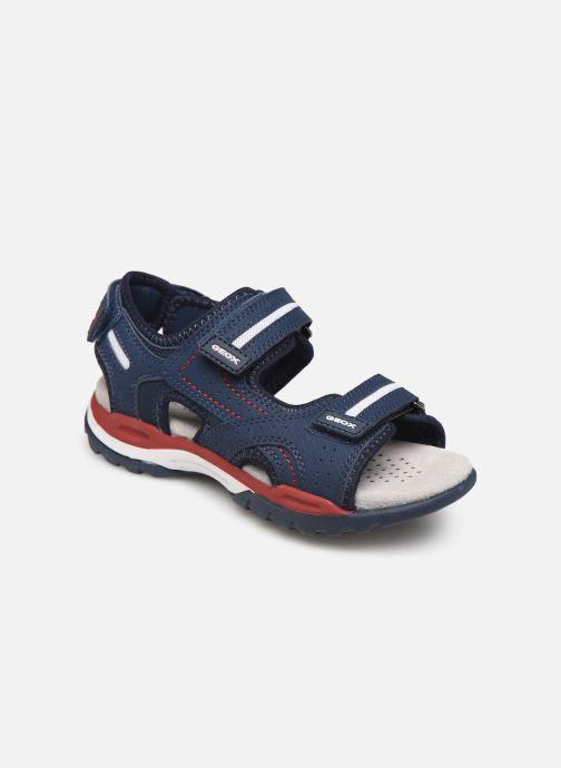 Sandales et nu-pieds Geox J Borealis Boy J920RD Bleu vue détail/paire