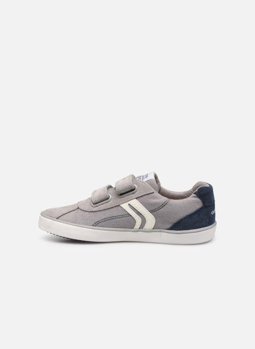 Sneakers Geox J Kilwi Boy J82A7I Grijs voorkant