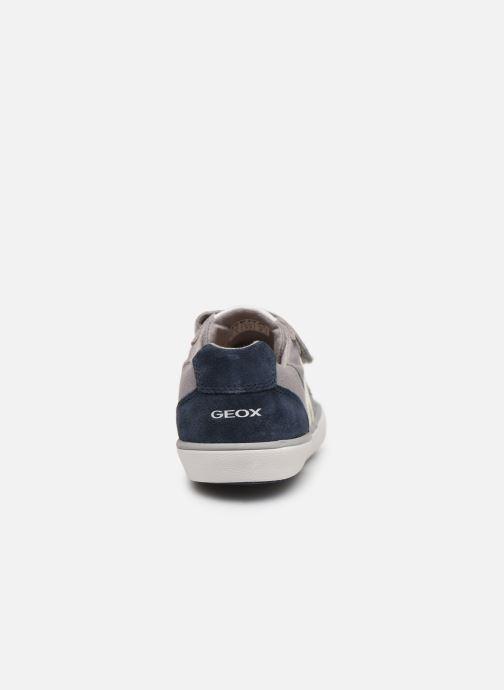 Sneakers Geox J Kilwi Boy J82A7I Grijs rechts