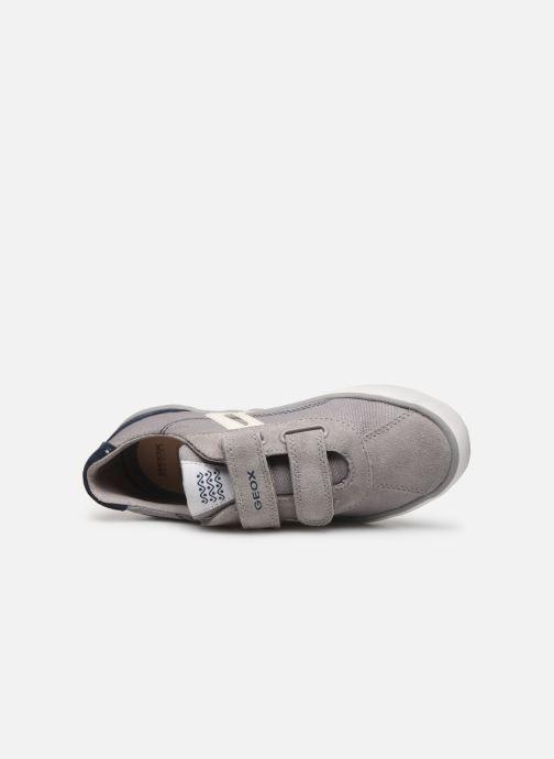 Sneakers Geox J Kilwi Boy J82A7I Grijs links
