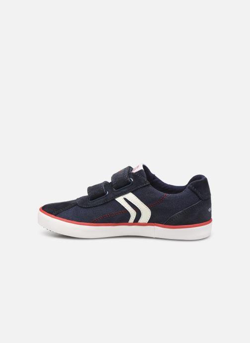 Sneakers Geox J Kilwi Boy J82A7I Blauw voorkant