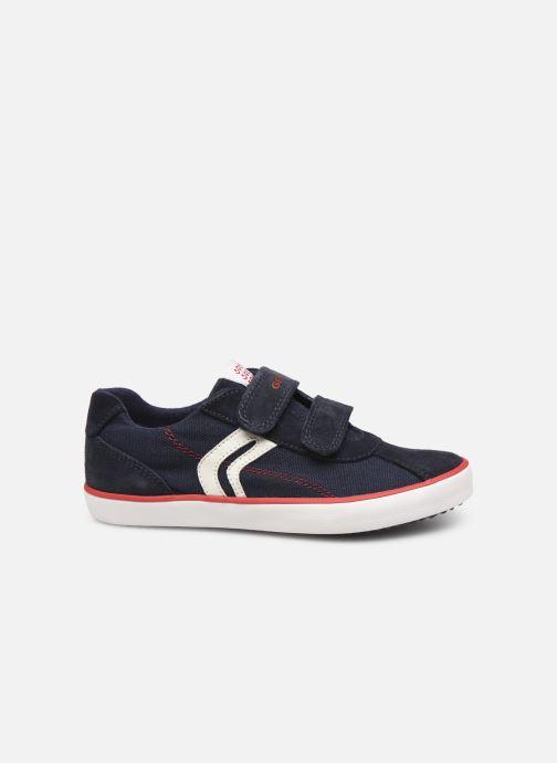Sneakers Geox J Kilwi Boy J82A7I Blå se bagfra