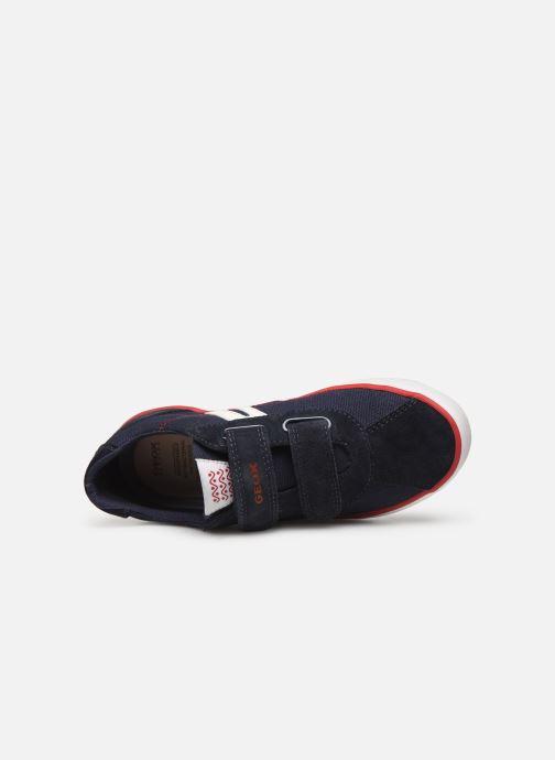 Sneakers Geox J Kilwi Boy J82A7I Blå se fra venstre