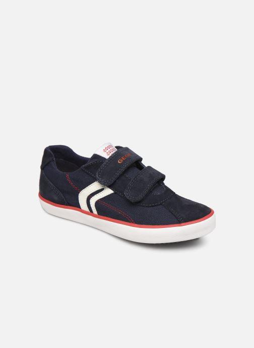 Sneakers Geox J Kilwi Boy J82A7I Blå detaljeret billede af skoene