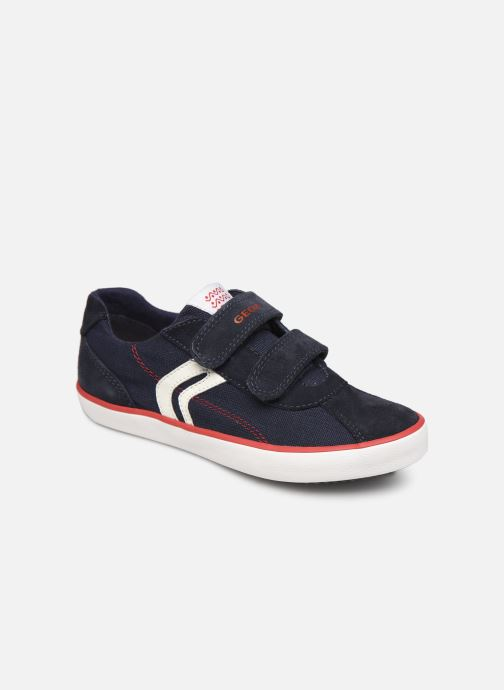 Trainers Geox J Kilwi Boy J82A7I Blue detailed view/ Pair view