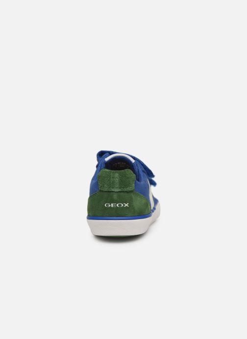 Sneaker Geox J Kilwi Boy J82A7I blau ansicht von rechts