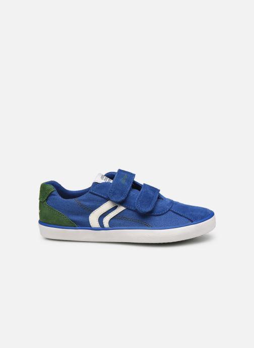 Sneaker Geox J Kilwi Boy J82A7I blau ansicht von hinten