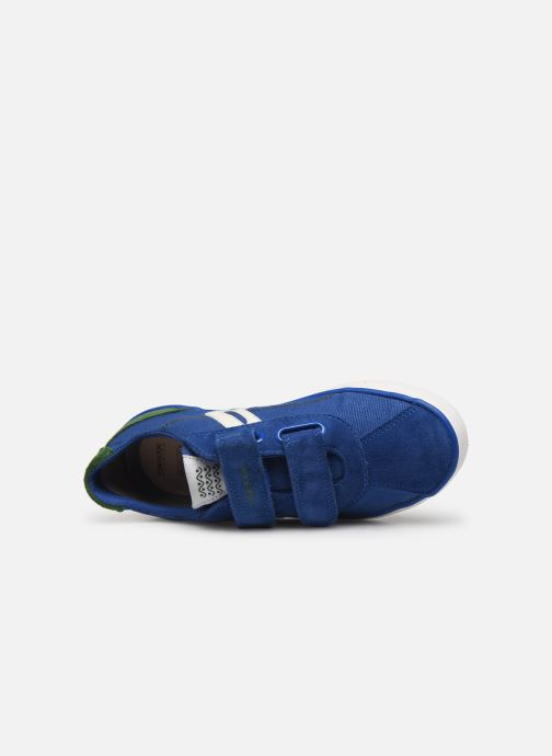 Trainers Geox J Kilwi Boy J82A7I Blue view from the left