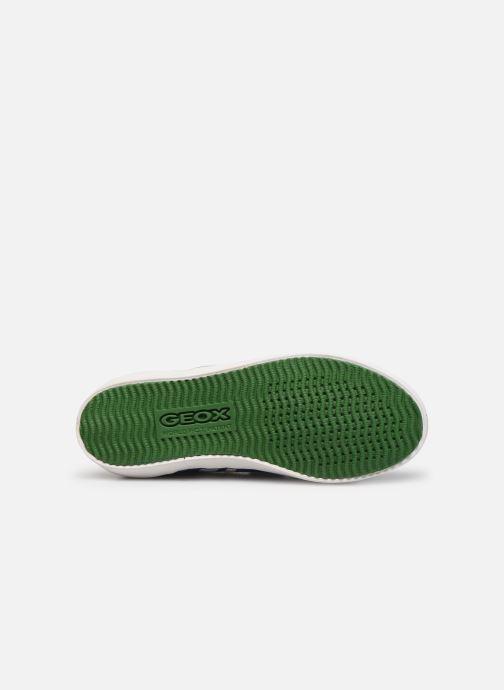 Sneakers Geox J Kilwi Boy J82A7I Azzurro immagine dall'alto