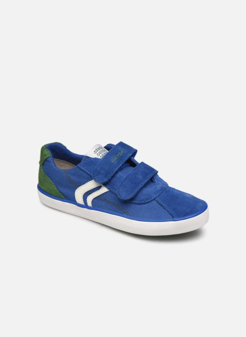 Sneakers Geox J Kilwi Boy J82A7I Azzurro vedi dettaglio/paio