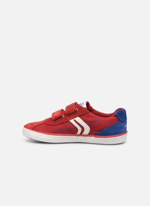 Sneakers Geox J Kilwi Boy J82A7I Rosso immagine frontale