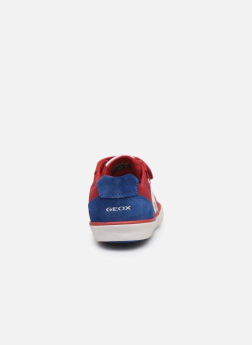 Sneakers Geox J Kilwi Boy J82A7I Rosso immagine destra