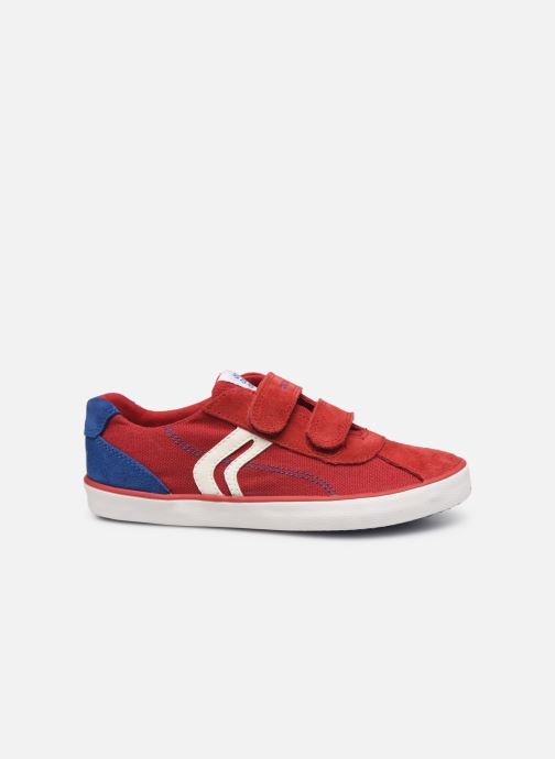 Sneakers Geox J Kilwi Boy J82A7I Rosso immagine posteriore