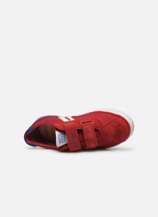 Sneakers Geox J Kilwi Boy J82A7I Rosso immagine sinistra