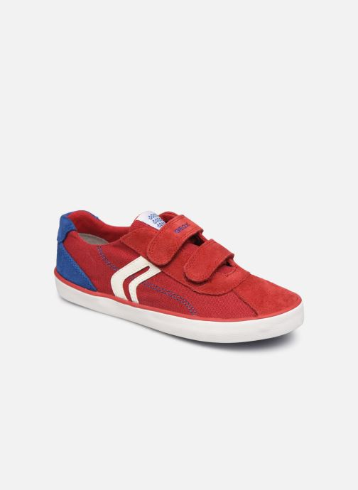 Trainers Geox J Kilwi Boy J82A7I Red detailed view/ Pair view