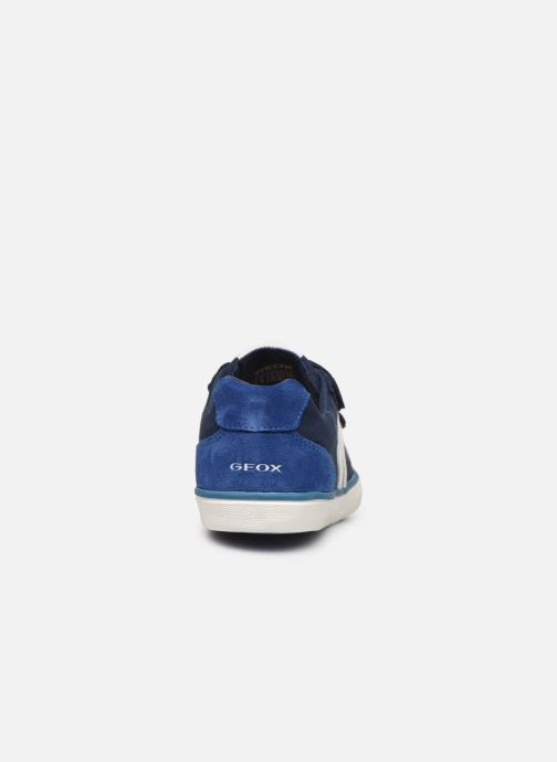 Baskets Geox J Kilwi Boy J82A7I Bleu vue droite