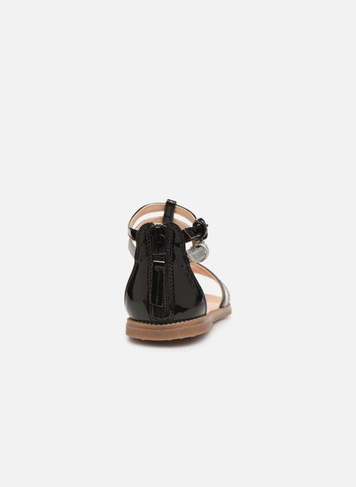 Sandales et nu-pieds Geox J Sandal Karly Girl J7235D Noir vue droite