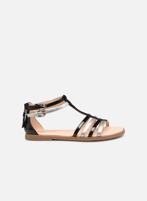 Sandalen Geox J Sandal Karly Girl J7235D Zwart achterkant