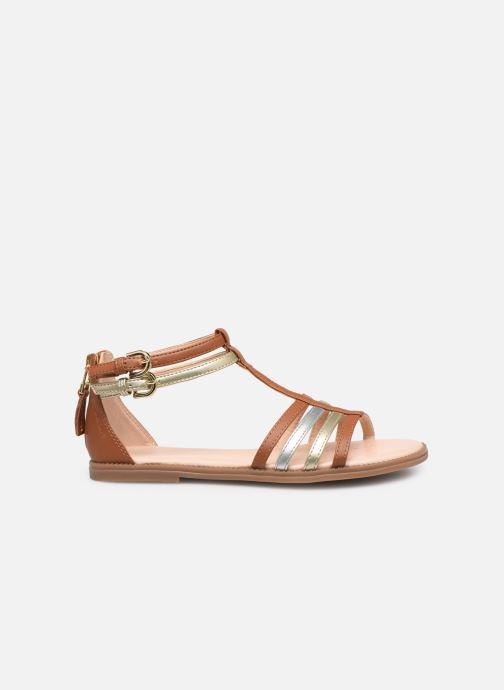 Sandales et nu-pieds Geox J Sandal Karly Girl J7235D Marron vue derrière