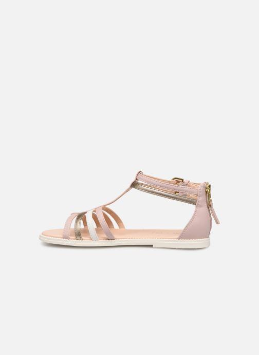 Sandales et nu-pieds Geox J Sandal Karly Girl J7235D Rose vue face