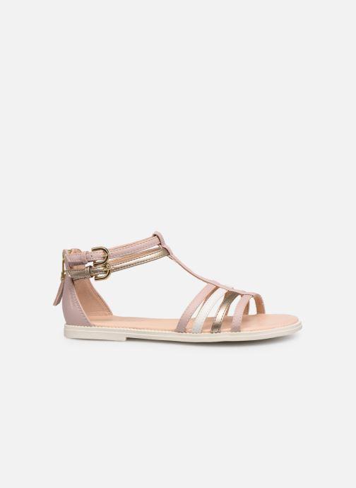 Sandales et nu-pieds Geox J Sandal Karly Girl J7235D Rose vue derrière