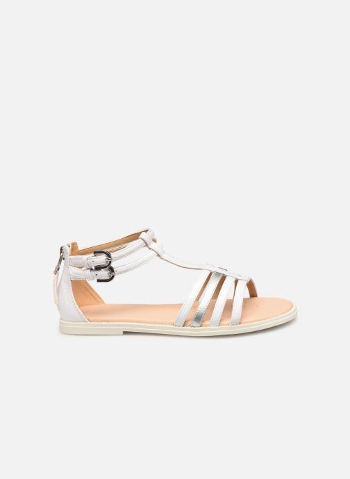 Sandales et nu-pieds Geox J Sandal Karly Girl J7235D Blanc vue derrière