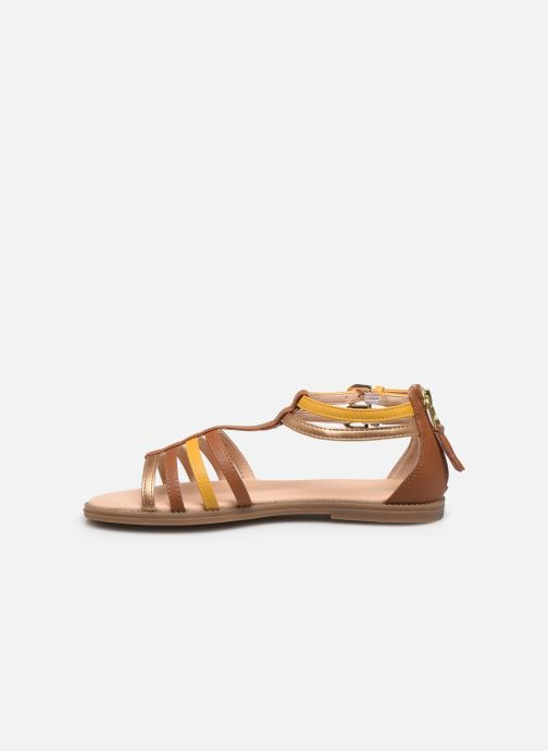 Sandalias Geox J Sandal Karly Girl J7235D Marrón vista de frente