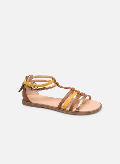 Sandales et nu-pieds Geox J Sandal Karly Girl J7235D Marron vue détail/paire