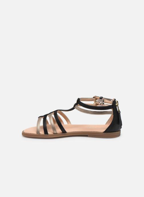 Sandalen Geox J Sandal Karly Girl J7235D schwarz ansicht von vorne