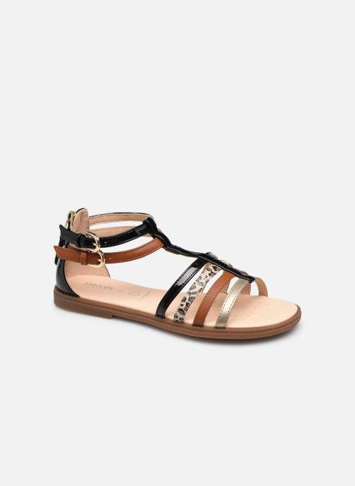 Sandales et nu-pieds Geox J Sandal Karly Girl J7235D Noir vue détail/paire