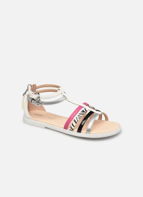 Sandales et nu-pieds Geox J Sandal Karly Girl J7235D Multicolore vue détail/paire