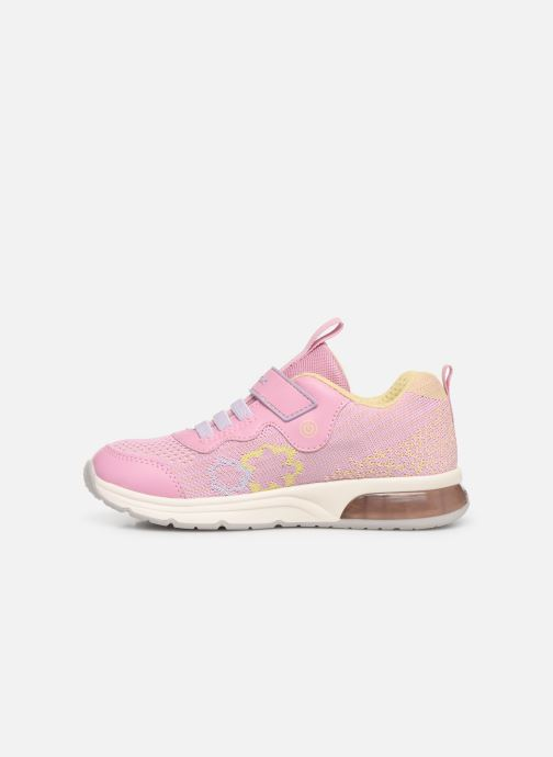 Trainers Geox J Spaceclub Girl J928VA Pink front view
