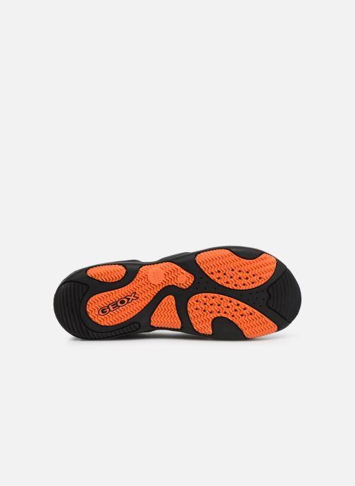 Sandales et nu-pieds Geox Jr Sandal Kyle J92E1B Noir vue haut