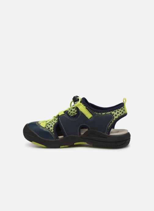 Sandales et nu-pieds Geox Jr Sandal Kyle J92E1B Bleu vue face