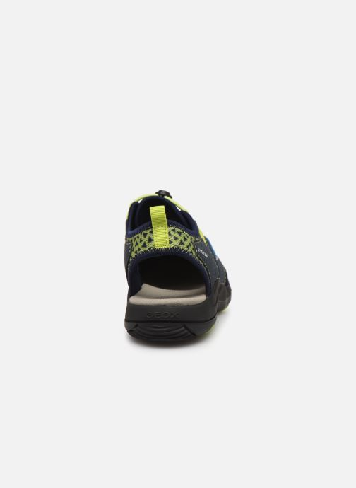 Sandali e scarpe aperte Geox Jr Sandal Kyle J92E1B Azzurro immagine destra